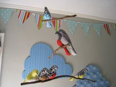 Project Lil' Lamonts: DIY Bird Mobile