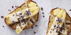 Combining all things sweet, savoury and bitter with Tahini, Banana + Cacao Nib Toastie