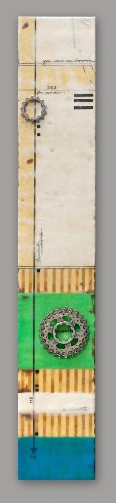 Abstrakte Malerei Bilder Gemälde Acrylbilder blau zweiteilig ...