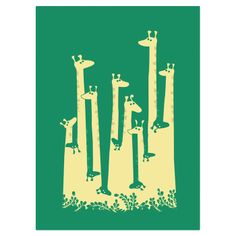 Such a Great Height Canvas Giclee Print