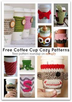10 Free Patterns for Marvelous Crochet Mug Cozies! - Bloglovin
