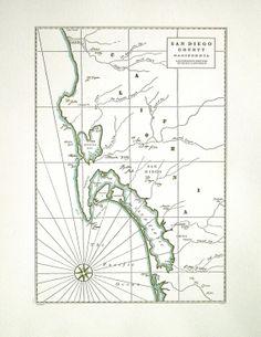 San Diego letterpress