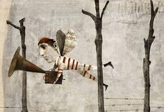 Antonello Silverini - ilustración, collage