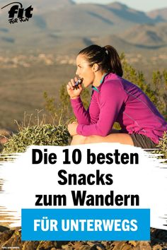 Richtiger Proviant: Die 10 besten Snacks zum Wandern – FIT FOR FUN Are you planning a hike? We show you 10 healthy snacks that give you the energy you need to hold out while hiking. Backpacking Food, Camping And Hiking, Camping Meals, Clean Eating Muffins, Hiking Training, Hiking Europe, Bushcraft Camping, 90 Day Plan, Outdoor Fun