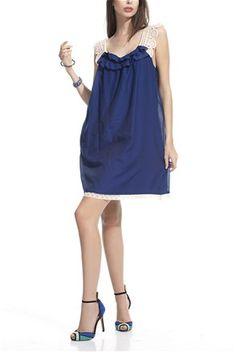 Φόρεμα indigo - L'Adore | Stilago
