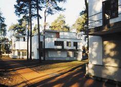 Masters' houses in Dessau-Rosslau ©Stadt Dessau-Roßlau