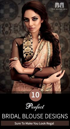 10 Bridal Saree Blouse Designs: The Latest