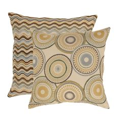 Riley and Wave Throw Pillows