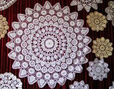 Hand made in Koniakow. World's famous lace