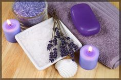 lavendar can sooth your mind and body -- Aromatherapy: A Beginner's Guide to a More Therapeutic Bath from Bathroom Bliss by rotator Rod