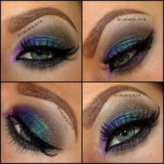 Simple Peacock https://www.makeupbee.com/look.php?look_id=87544
