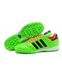 Discount Cheap World Cup Adidas Copa Mundial TF Soccer Shoes Green Orange Black Buy Online cheap football shoes Womens Soccer Cleats, Nike Soccer Shoes, Cheap Football Shoes, Football Boots, All Black Nikes, Discount Adidas, Soccer Girl Problems, Adidas Football, Orange