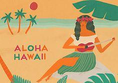 Naomi Wilkinson Illustration Naomi Wilkinson, Aloha Hawaii, Tropical Vibes, Graphic Design Illustration, Design Projects, Drawings, Creative, Inspiration, Painting