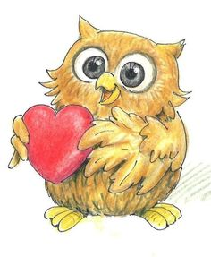 owl love you forever Valentines Day Drawing, Valentines Art, Owl Photos, Owl Pictures, Owl Wallpaper, Owl Templates, Felt Owls, Owl Always Love You, Wise Owl