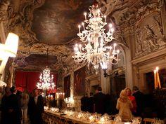 New York Social Diary-6.11.07: Day 3 & 4 in Venice.  Interior of Palazzo Albrizzi, my model for Francesca's palazzo.