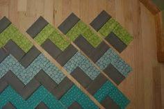 Zig-zag quilt made easy!.