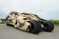 Batmobile Tumbler Camouflage / Dark Knight Rises