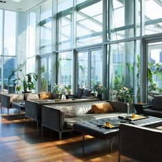 The Press Lounge at Ink 48 Hotel: The Press Lounge is located in the Ink 48 Hotel, a former printing house in New York City. Located on the 16th floor, the rooftop venue has panoramic views on all sides, from Times Square to the Hudson River. A clean, modern transparent glass box allows unobstructed views of the city skyline. A large bi-fold glass door opens up to the views beyond, allowing for expansion of the indoor /outdoor activity in various types of weather. The glass room at Press…