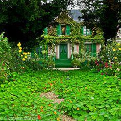 Monet's Nasturtium Path, Grande Allee
