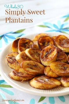 How to Make Cinnamon-Dusted Fried Plantains