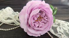 Пионовидная роза из фоамирана | Tavifa