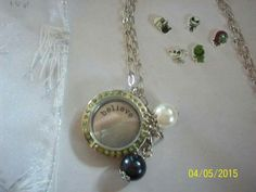 Nightmare Before Christmas Floating Locket $50.00