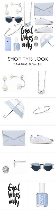 """""""Must Have Winter Accessories"""" by mlgjewelry on Polyvore featuring Wish by Amanda Rose, Hunter, Rebecca Minkoff, adidas Originals, Christian Dior and Essie"""