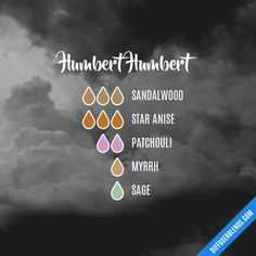 Humbert Humbert - Essential Oil Diffuser Blend Essential Oil Diffuser Blends, Essential Oils, Perfume, Floral, Flowers, Fragrance, Essential Oil Uses, Essential Oil Blends