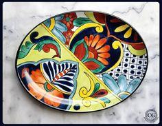 CG pintura sobre porcelana