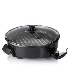 """DASH 14"""" Extra-Large Nonstick Rapid Skillet with Rack"""
