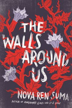 The Walls Around Us - book cover design by Connie Gabbert