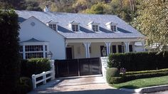 The former home of major movie star Judy Garland, seen during our Classic Hollywood celebrity homes tour of Beverly Hills, Hollywood and Bel Air.