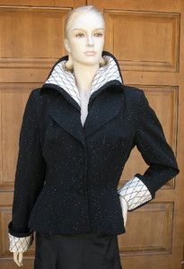 Lilli Ann Couture Coat Jacket Fashioned in France New Look Late 40's Early 50's | eBay