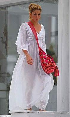 Love the wayuu bag - Shakira