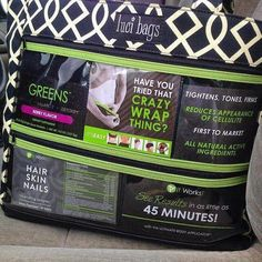 Here is a sample walking advertisement Luci Bag for It Works.