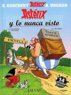 35 Asterix En Español Ideas Albert Uderzo Astrix Comics