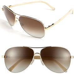 96b9b86532  Chloe  Eyewear  Chloe  61mm  Aviator  Sunglasses Chloe 61mm Aviator  Sunglasses