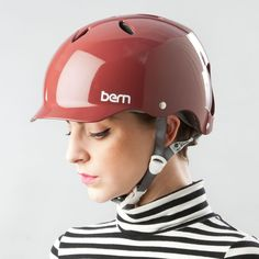 M-L Bern Lenox EPS Visor Midnight Blue Donna Casco bicicletta action-SKATE CASCO