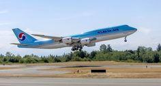 Korean Air a recepţionat primul Boeing 747-8i