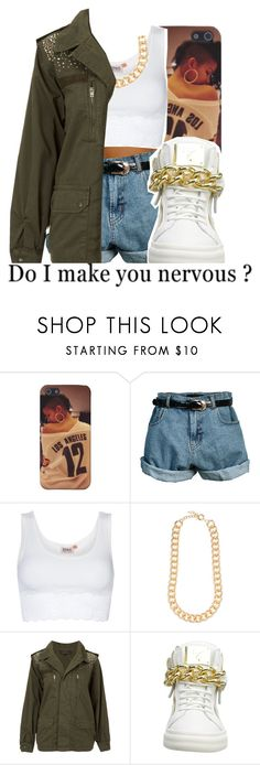 """Quick Set..."" by yg-cupid ❤ liked on Polyvore featuring Retrò, ONLY, Forever New, Topshop and Giuseppe Zanotti"