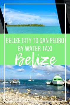 Belize City to San Pedro: How to Get from the Airport to Ambergris Caye & Back - History Fangirl Belize Resorts, Belize Vacations, Belize Travel, Caribbean Vacations, Costa Rica Travel, Best Travel Guides, Travel Tips, Travel Ideas, Belize Islands