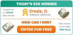 Clicking Here Could Change Your Bank Account! | Sweepstakes For Days