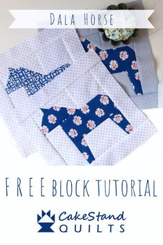 Dala Horse quilt block tutorial by Nicola Dodd 2019 Dala Horse quilt block tutorial by Nicola Dodd The post Dala Horse quilt block tutorial by Nicola Dodd 2019 appeared first on Quilt Decor. Paper Piecing Patterns, Quilt Block Patterns, Pattern Blocks, Vintage Quilts Patterns, Block Quilt, Quilting Tutorials, Quilting Projects, Quilt Baby, Scandinavian Quilts