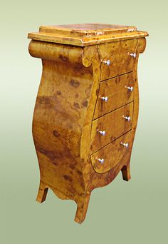 Art Decó Olive Wood by chiffonnier Muebles Art Deco, Art Nouveau Furniture, Art Deco Home, Art Deco Design, Modern Materials, Unique Furniture, Antique Items, Art Deco Fashion, Woodwork