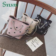 Little and Cute Single Shoulder Long Strap Black Bag Small Bag