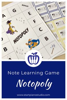Supplement learning the notes in bass and treble clef with Notopoly! Beginner Piano Lessons, Lesson Plan Sample, Heroes Book, Treble Clef, Elementary Music, Music Therapy, Music Education, Fun Games, Curriculum