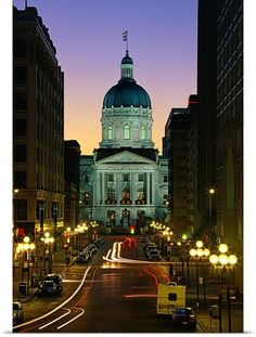 Indiana State Capitol Building, Indianapolis, IN