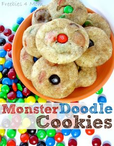 MonsterDoodle Cookies Recipe for Halloween #SpookyCelebration #cbias #shop http://freebies4mom.com/halloweenrecipes/