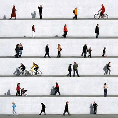 Wall People by Eka Sharashidze