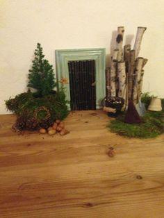 My gnome door.  Nissedør